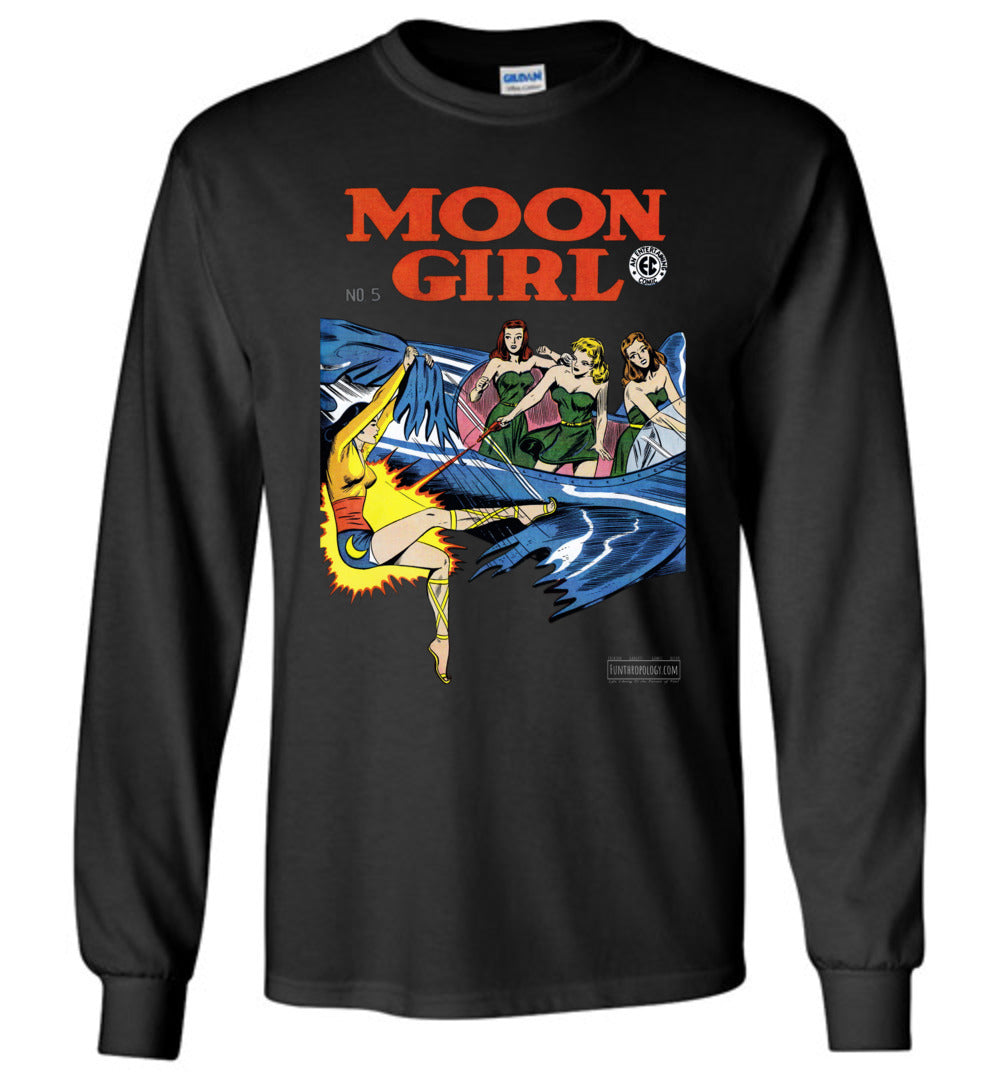 Moon Girl No.5 Long Sleeve (Youth, Dark Colors)