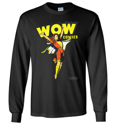 WOW Comics No.38 Long Sleeve (Youth, Dark Colors)