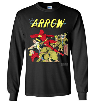 The Arrow No.3 Long Sleeve (Unisex, Dark Colors)