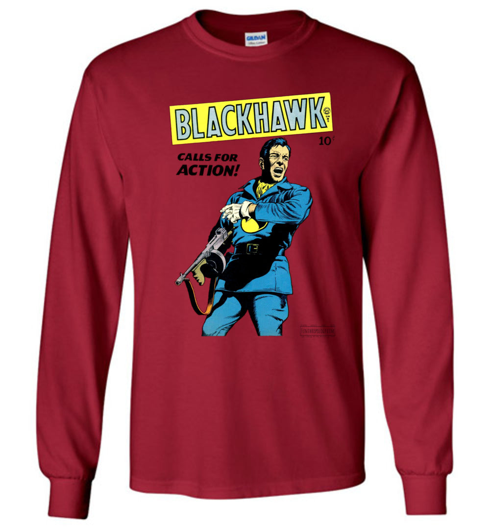 Blackhawk No.19 Long Sleeve (Unisex, Light Colors)