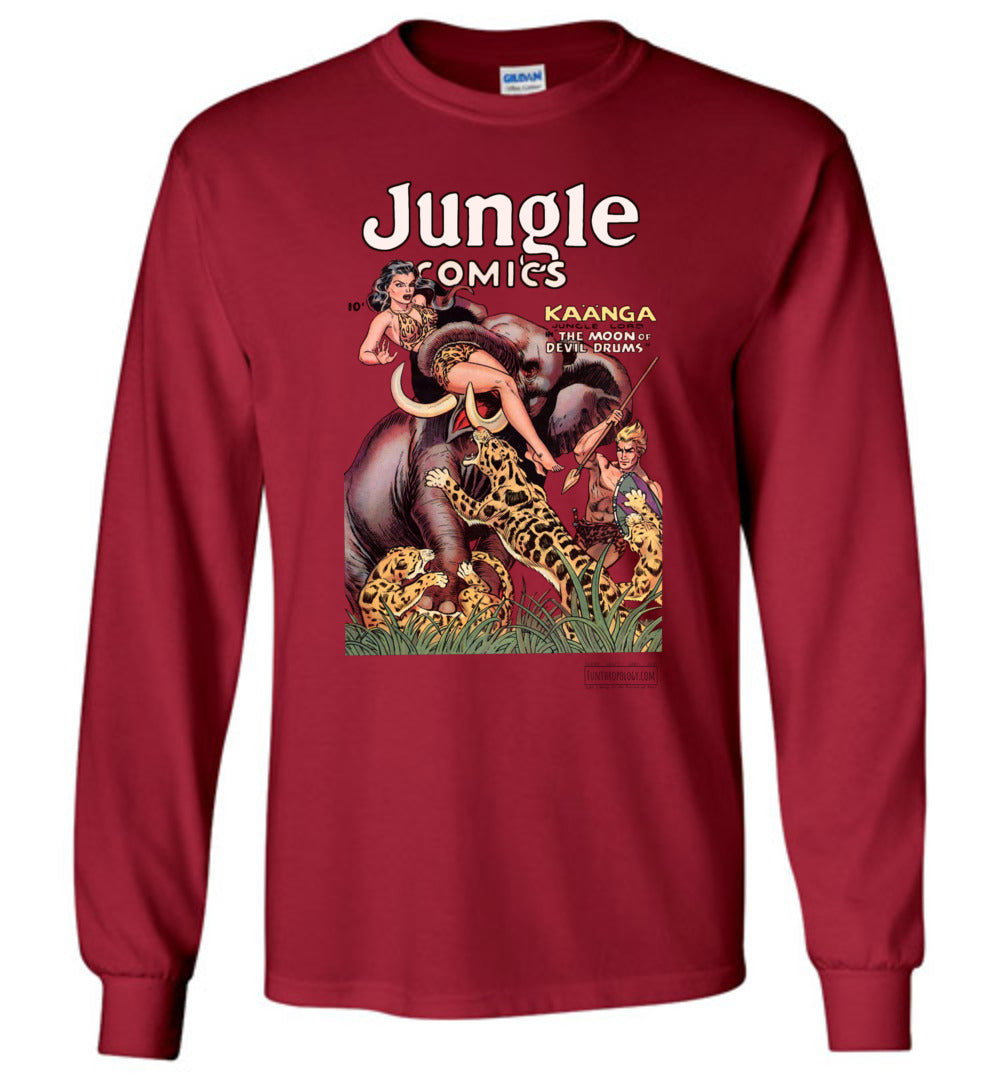 Jungle Comics No.143 Long Sleeve (Unisex, Light Colors)