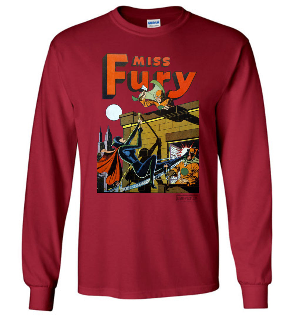 Miss Fury No.2 Long Sleeve (Unisex, Light Colors)