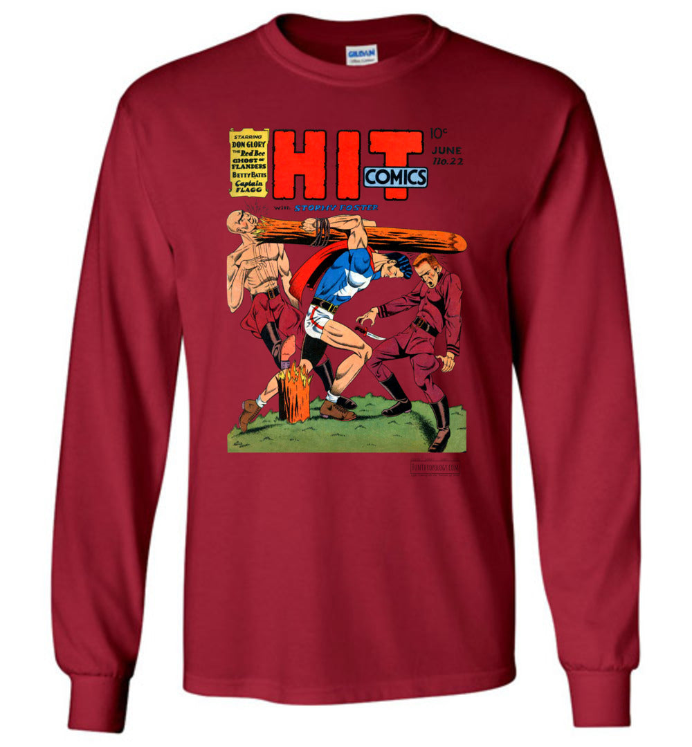 Hit Comics No.22 Long Sleeve (Unisex, Light Colors)