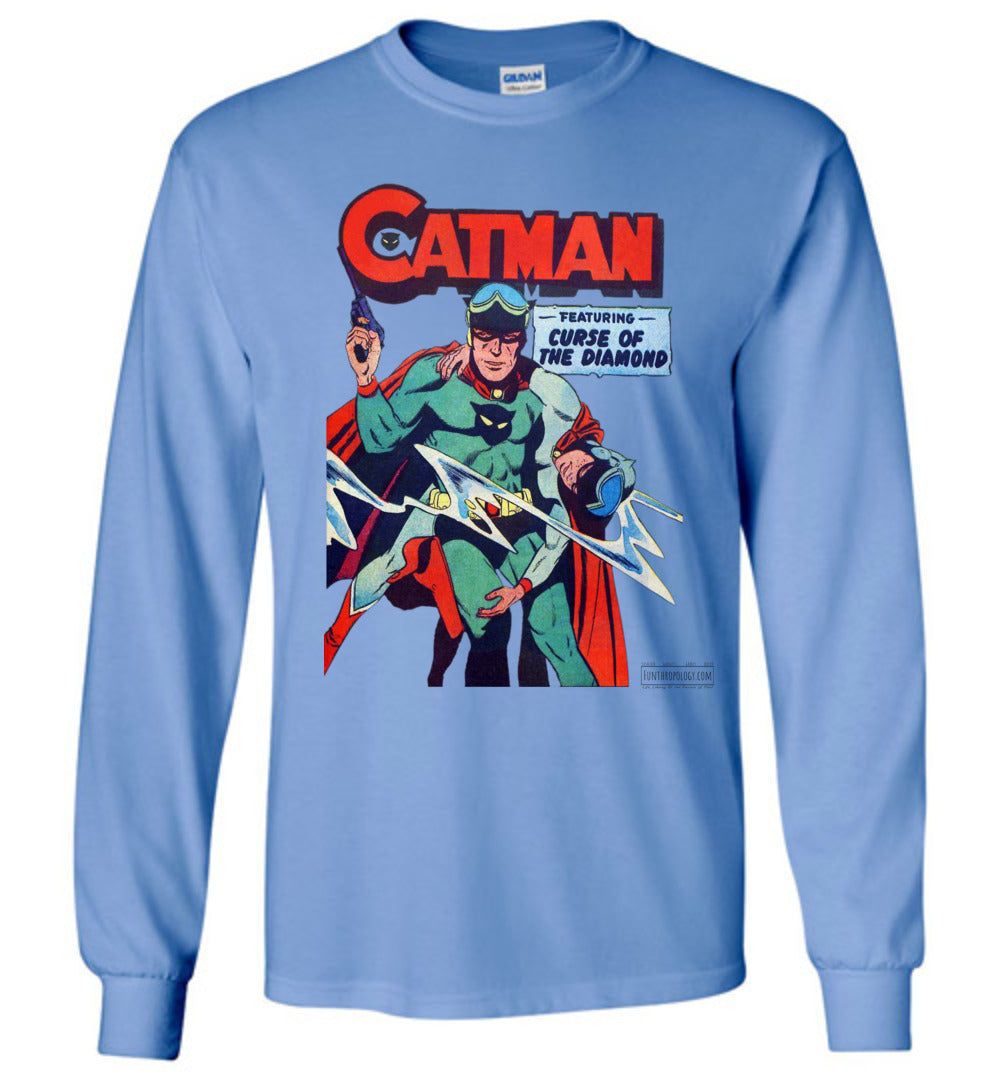 Catman No.16 Long Sleeve (Unisex, Light Colors)