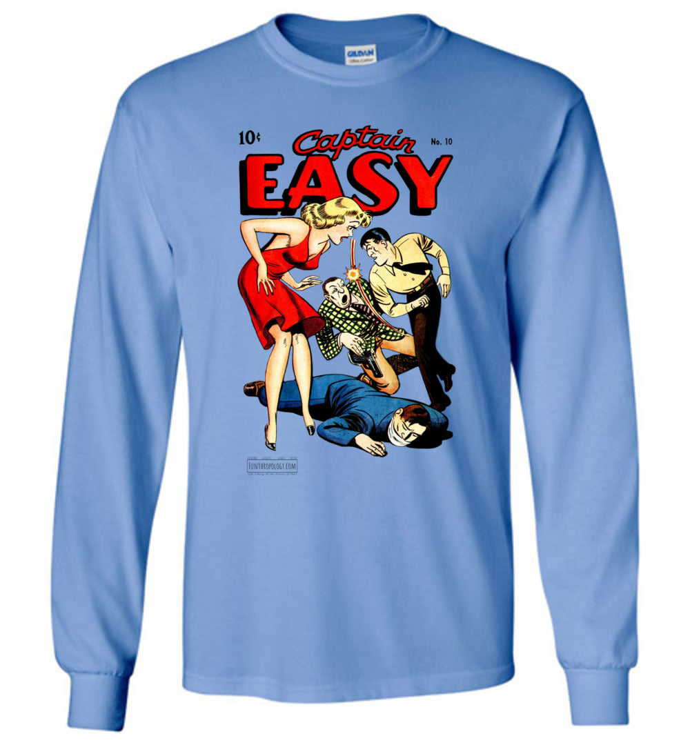 Captain Easy No.10 Long Sleeve (Unisex, Light Colors)