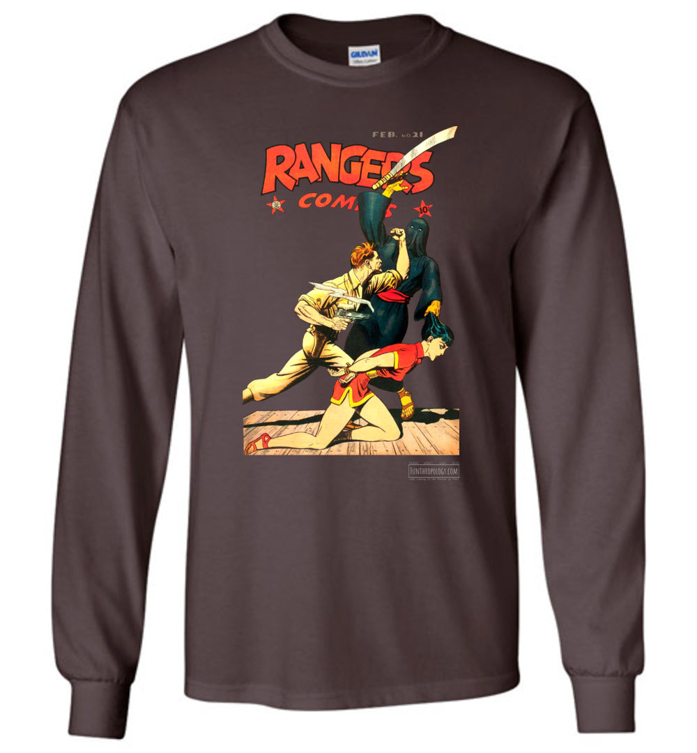 Rangers Comics No.21 Long Sleeve (Unisex, Dark Colors)