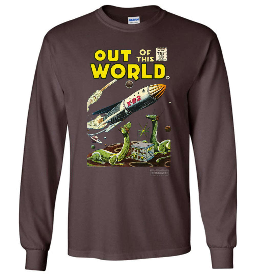 Out Of This World No.1 Long Sleeve (Unisex, Dark Colors)