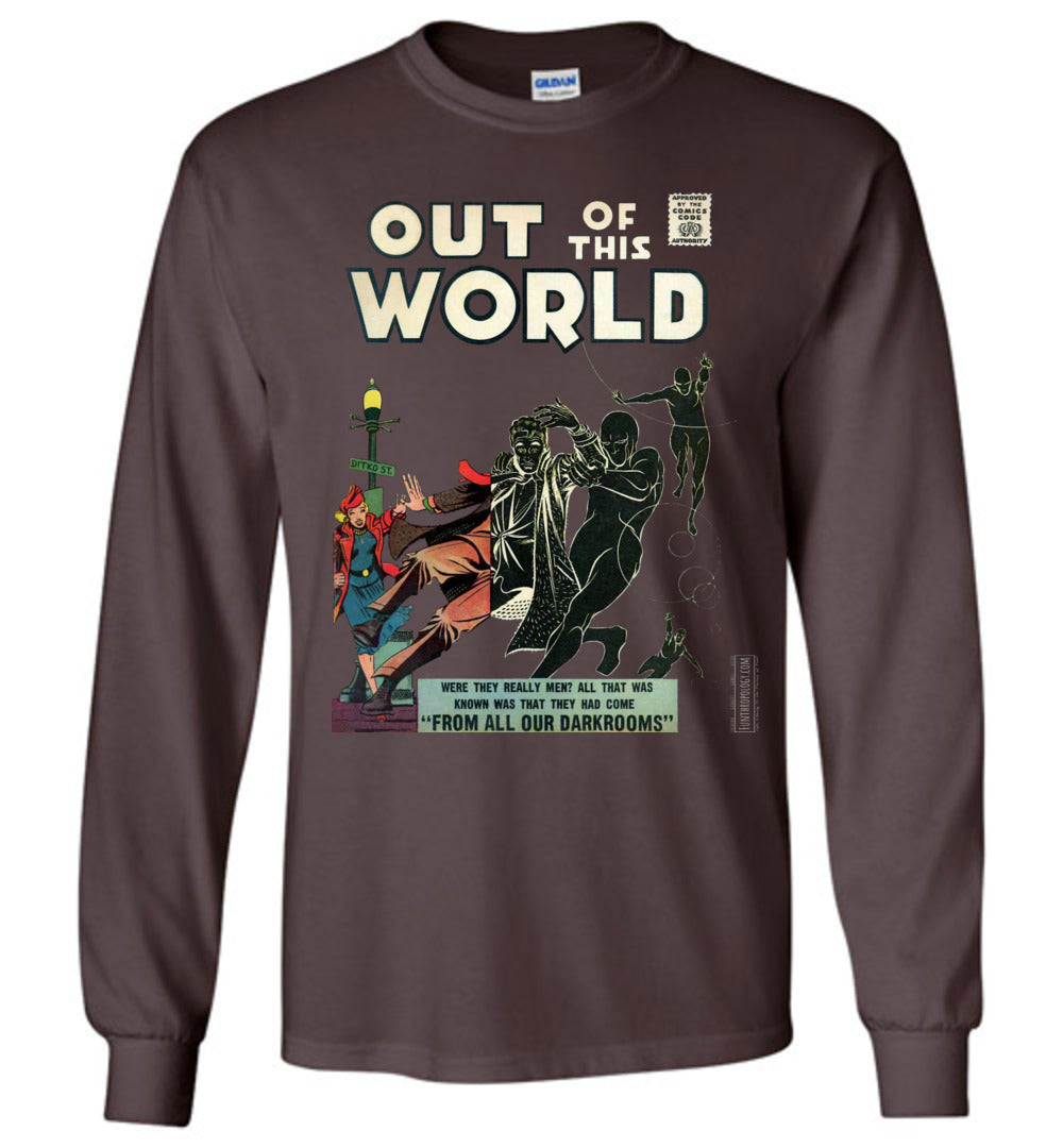 Out Of This World No.4 Long Sleeve (Unisex, Dark Colors)