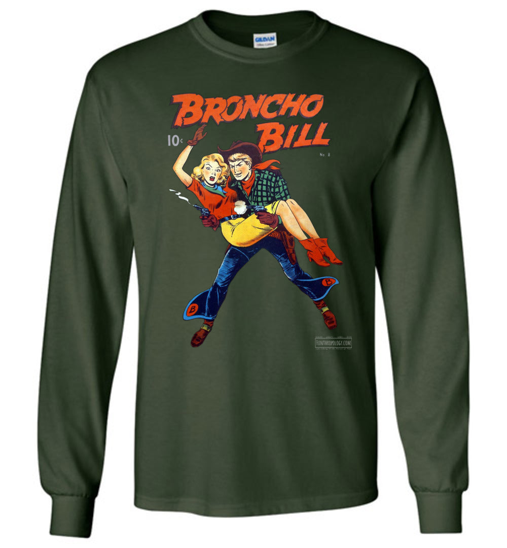 Broncho Bill No.8 Long Sleeve (Unisex, Dark Colors)