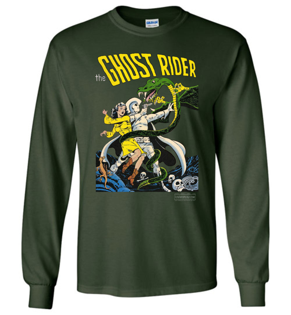 The Ghost Rider No.7 Long Sleeve (Unisex Plus, Dark Colors)