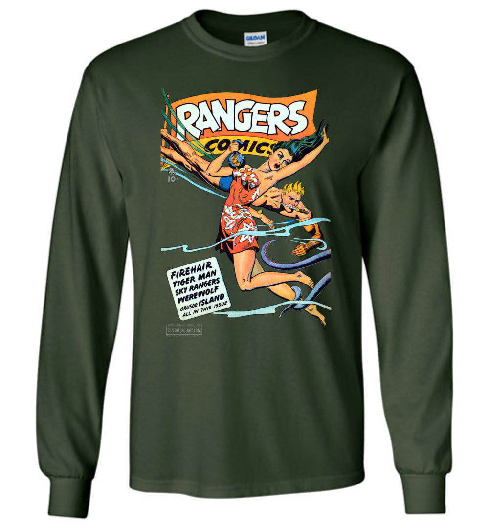 Rangers Comics No.39 Long Sleeve (Unisex, Dark Colors)