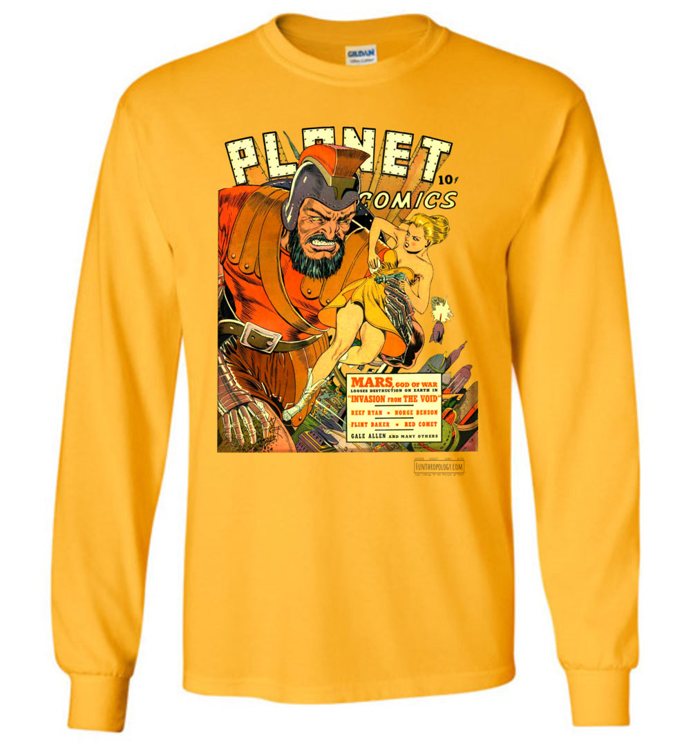 Planet Comics No.16 Long Sleeve (Unisex, Light Colors)