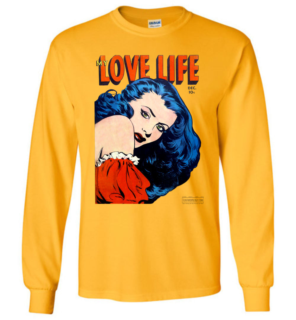 My Love Life No.9 Long Sleeve (Unisex, Light Colors)
