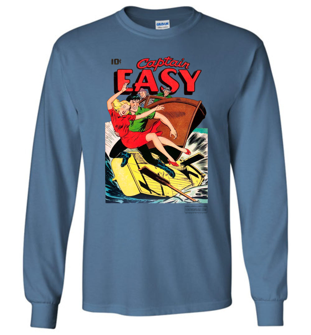 Captain Easy No.14 Long Sleeve (Unisex, Light Colors)