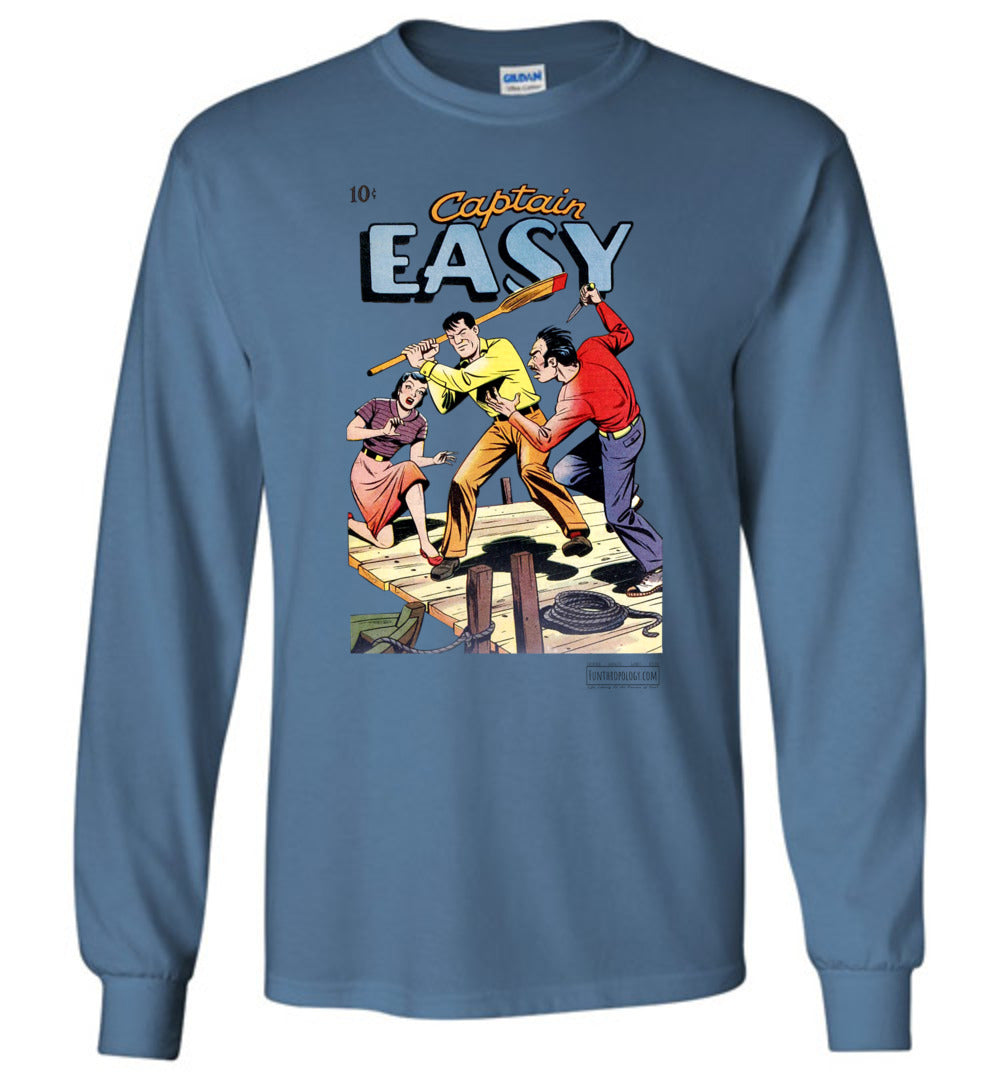 Captain Easy No.15 Long Sleeve (Unisex, Light Colors)