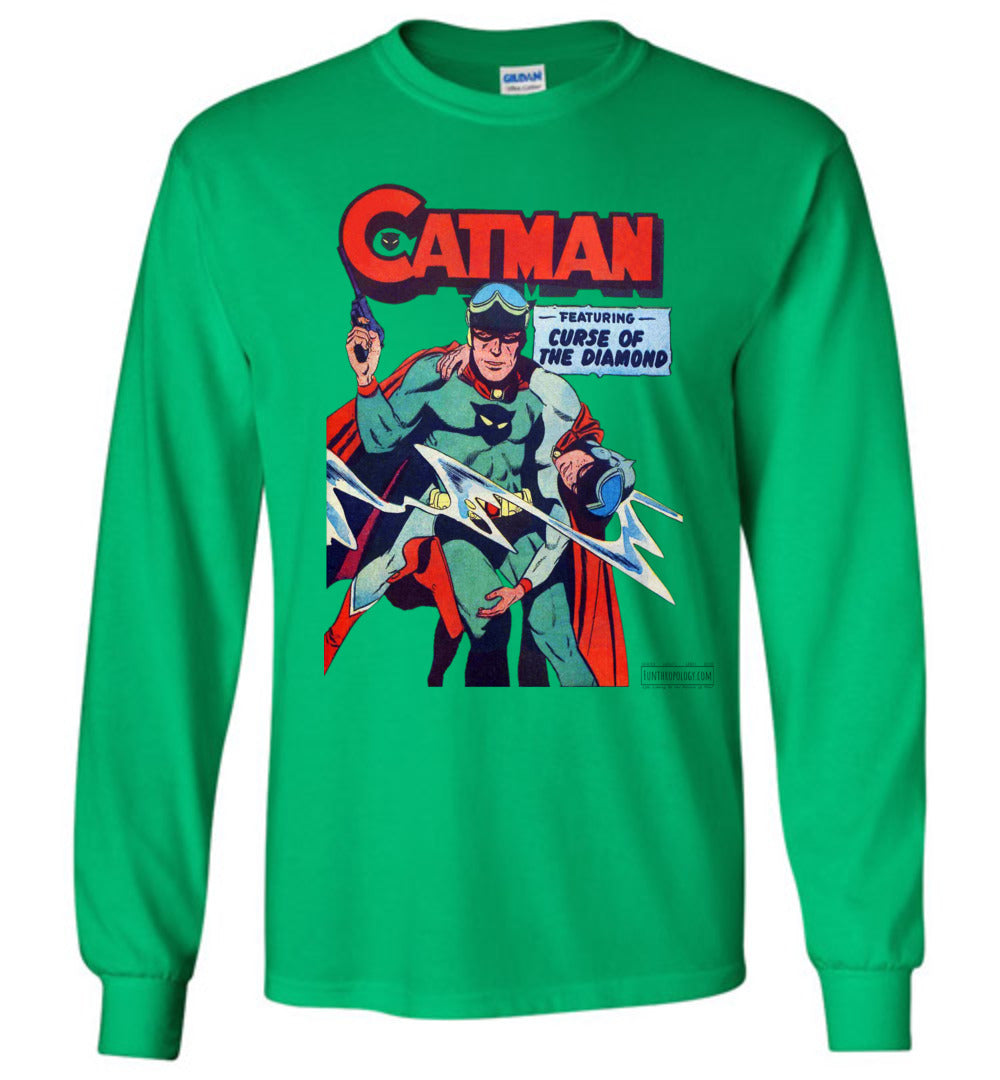Catman No.16 Long Sleeve (Youth, Light Colors)