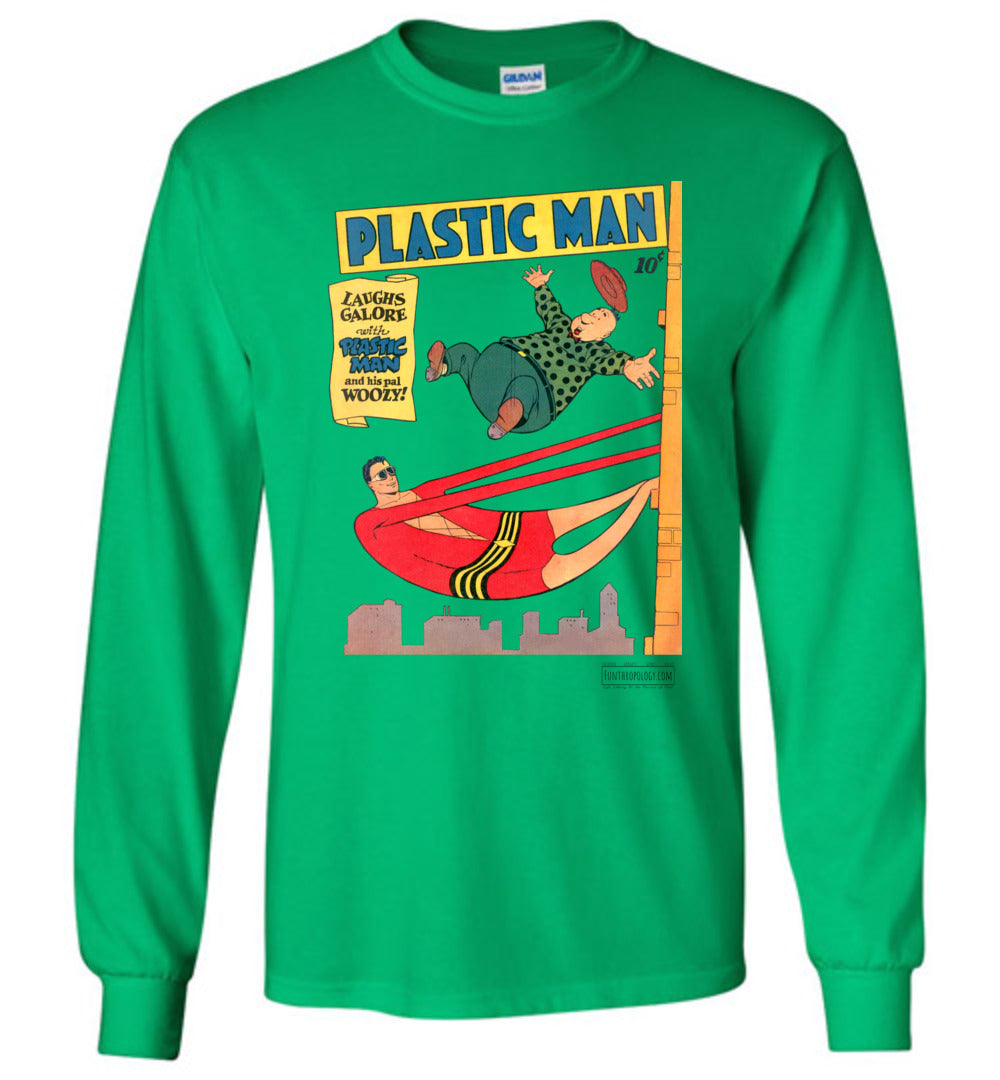 Plastic Man No.4 Long Sleeve (Unisex, Light Colors)