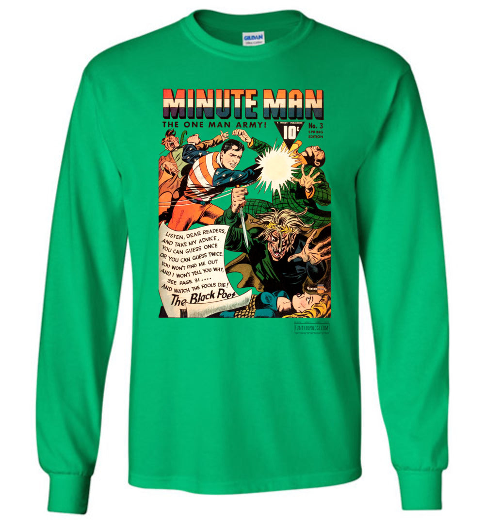 Minute Man No.3 Long Sleeve (Youth, Light Colors)