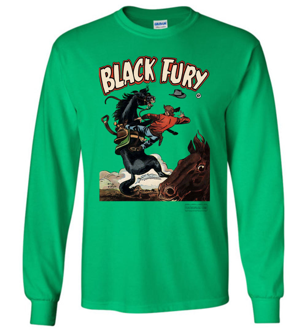 Black Fury No.4 Long Sleeve (Unisex, Light Colors)