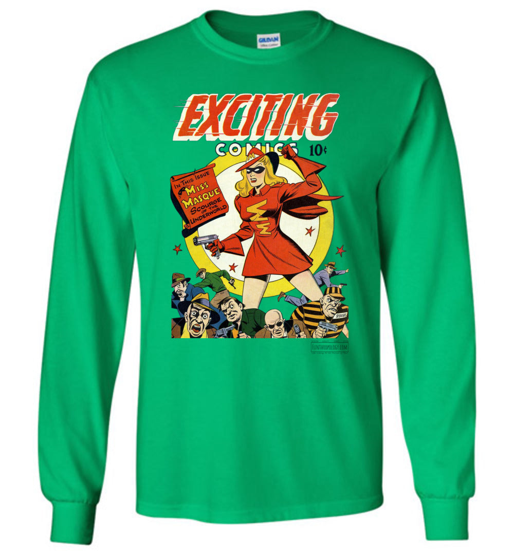 Exciting Comics No.53 Long Sleeve (Unisex, Light Colors)