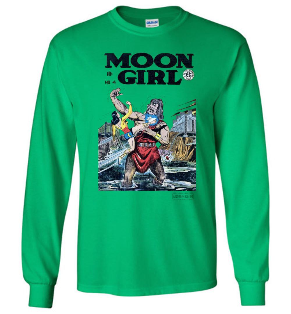 Moon Girl No.4 Long Sleeve (Youth, Light Colors)