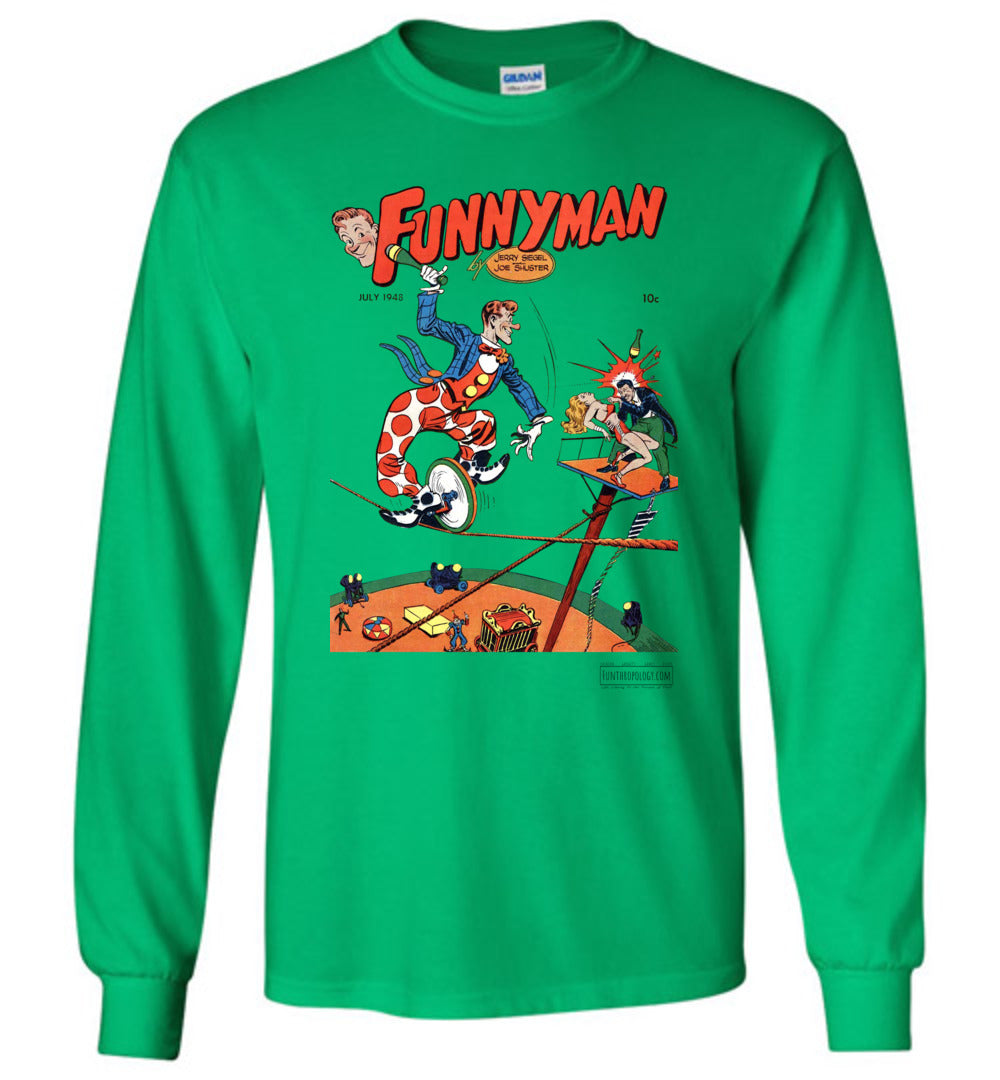 Funnyman No.5 Long Sleeve (Unisex, Light Colors)