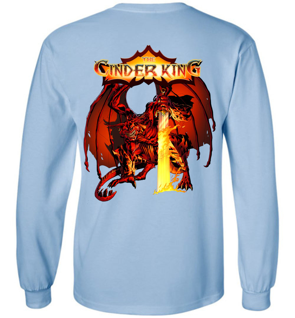 Capes & Chaos The Cinder King Long Sleeve (Youth)
