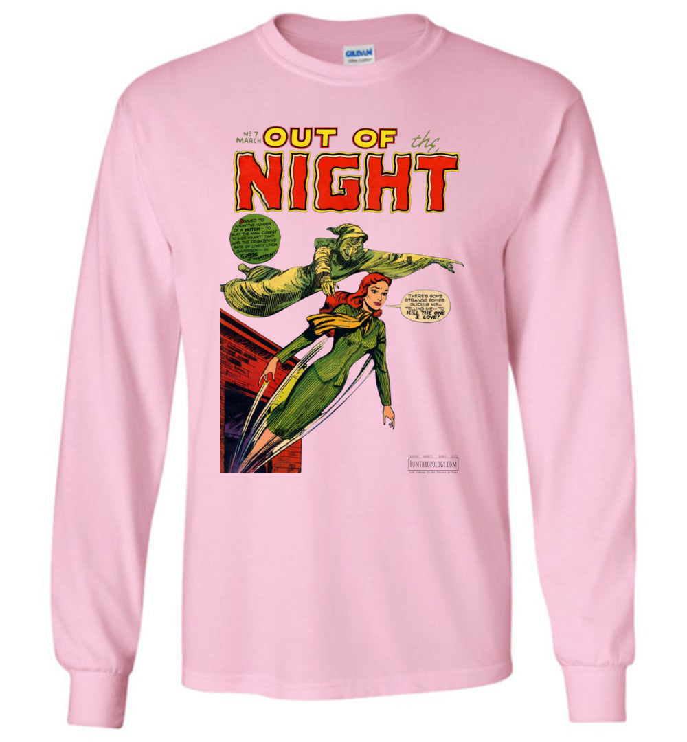 Out Of The Night No.7 Long Sleeve (Unisex, Light Colors)