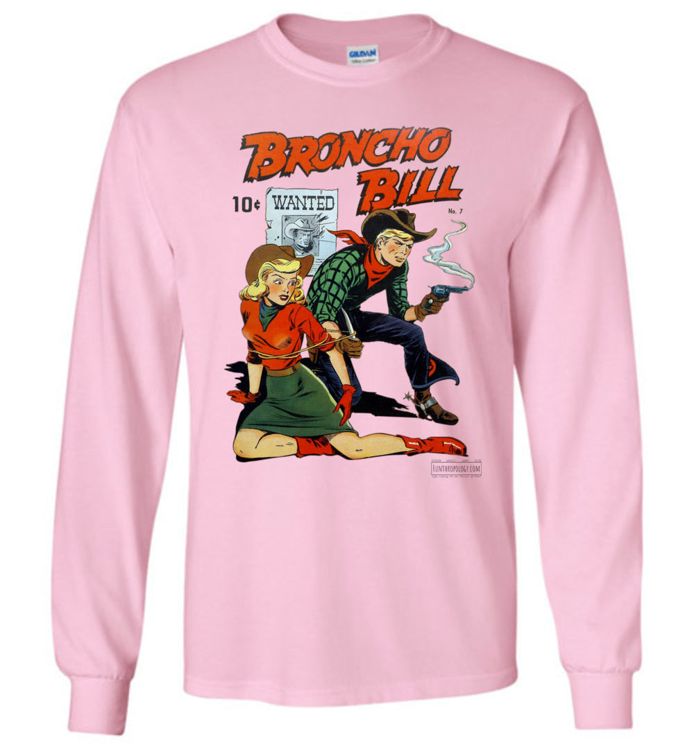 Broncho Bill No.7 Long Sleeve (Unisex, Light Colors)