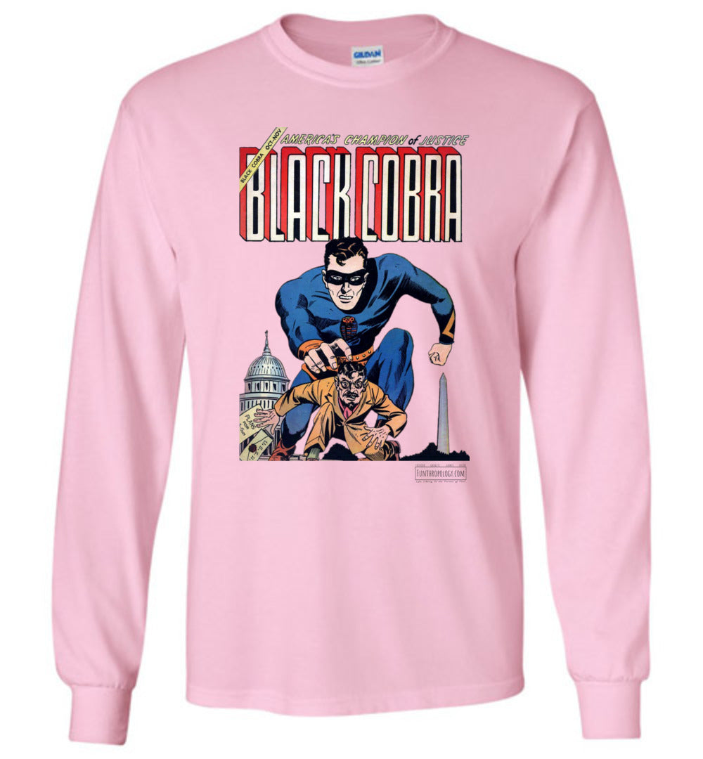 Black Cobra No.1 Long Sleeve (Youth, Light Colors)