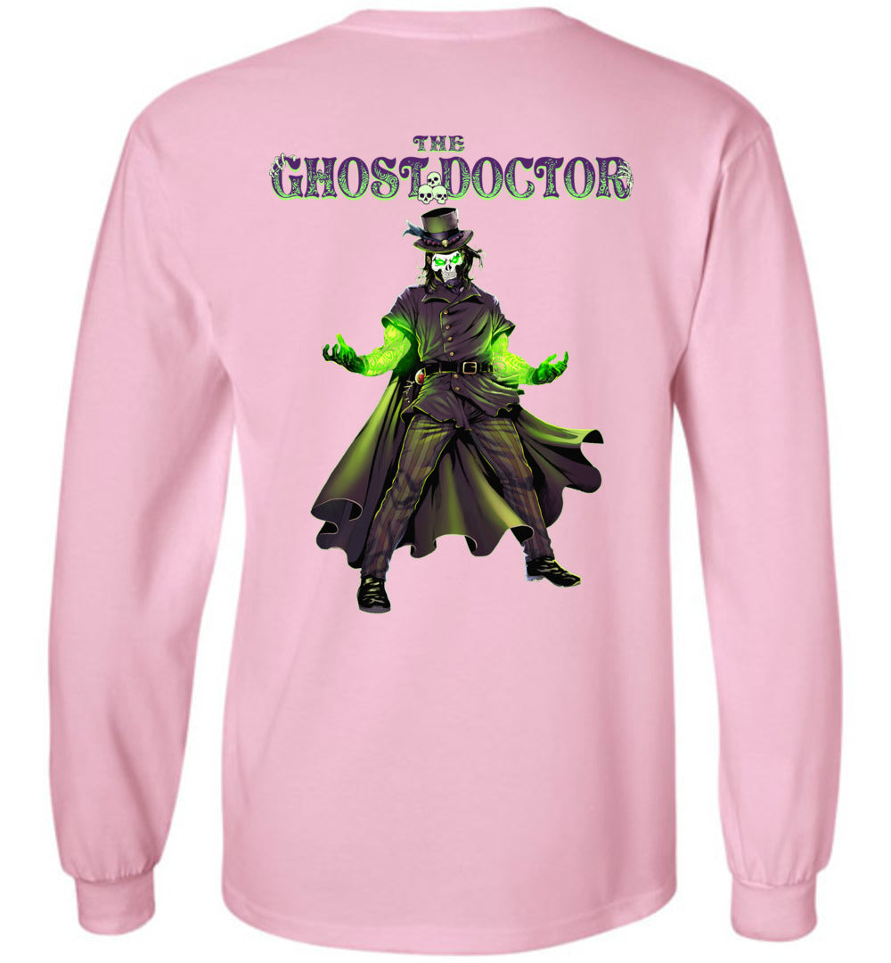 Capes & Chaos The Ghost Doctor Long Sleeve (Youth)