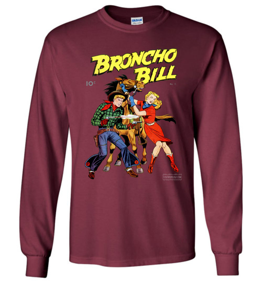 Broncho Bill No.11 Long Sleeve (Youth, Dark Colors)