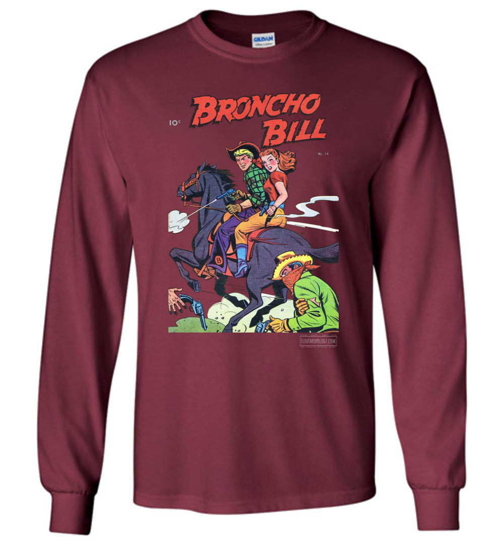 Broncho Bill No.14 Long Sleeve (Unisex, Dark Colors)