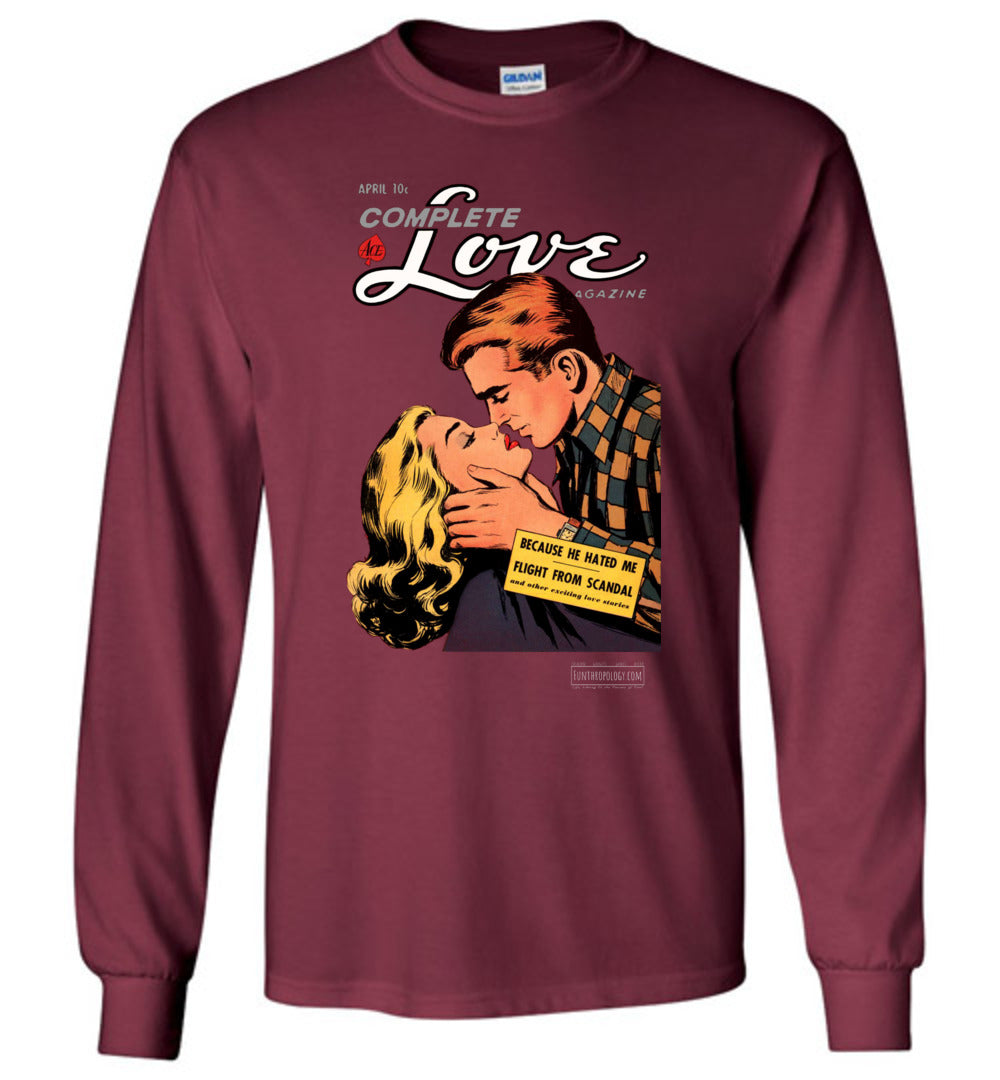 Complete Love No.27.1 Long Sleeve (Unisex, Dark Colors)