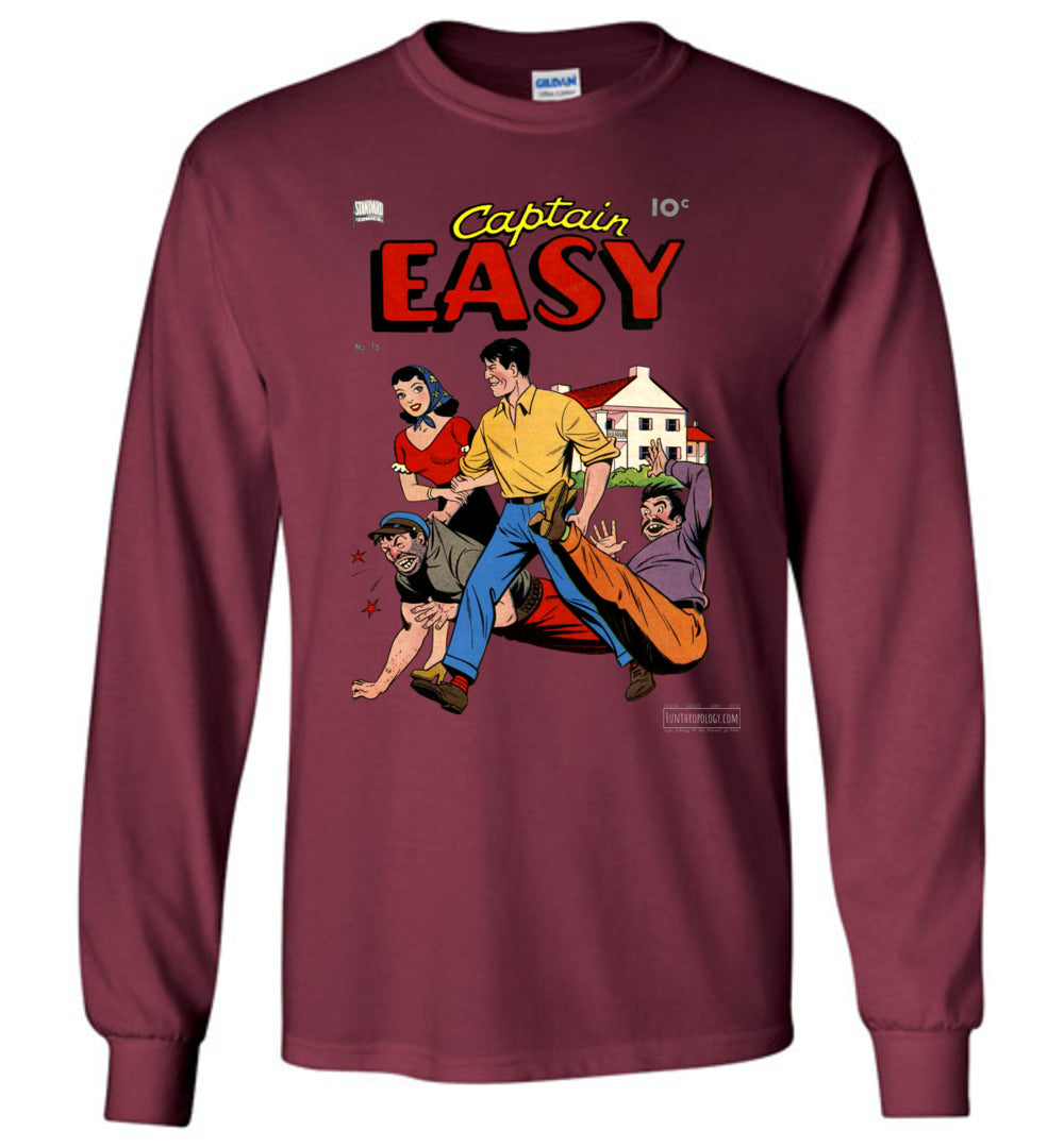 Captain Easy No.16 Long Sleeve (Unisex, Dark Colors)