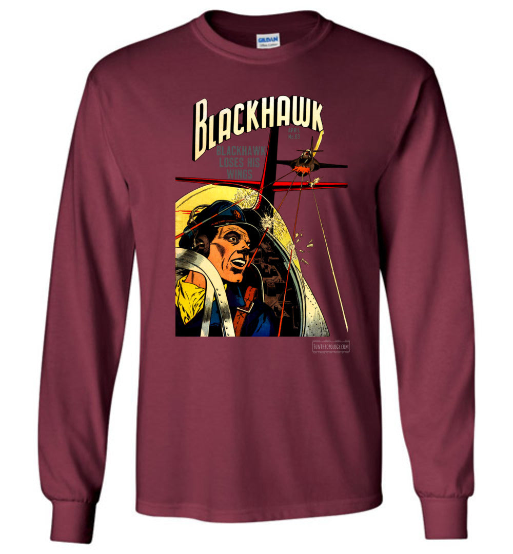 Blackhawk No.63 Long Sleeve (Unisex, Dark Colors)