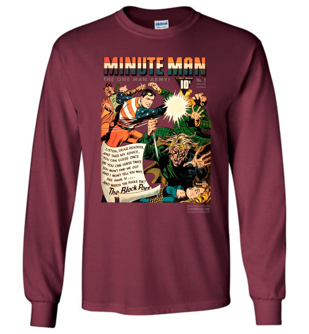Minute Man No.3 Long Sleeve (Youth, Dark Colors)