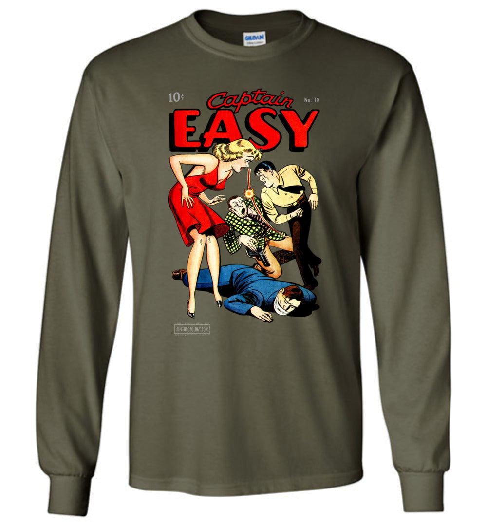 Captain Easy No.10 Long Sleeve (Unisex, Dark Colors)