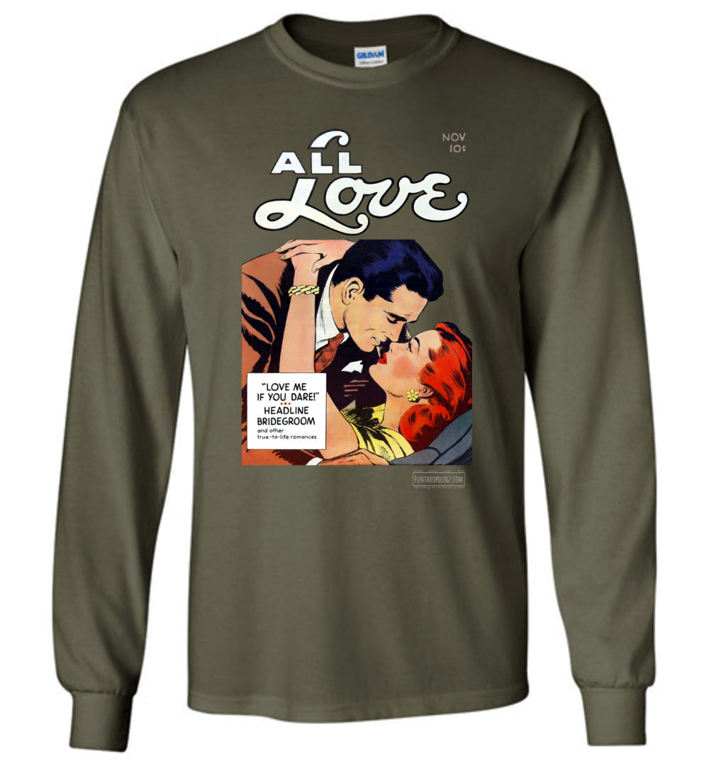 All Love No.29 Long Sleeve (Unisex, Dark Colors)