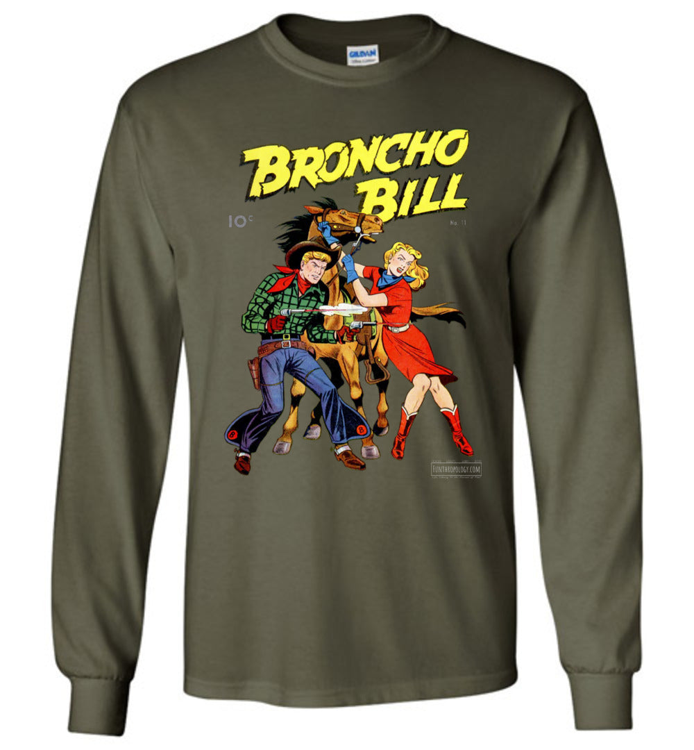 Broncho Bill No.11 Long Sleeve (Unisex, Dark Colors)