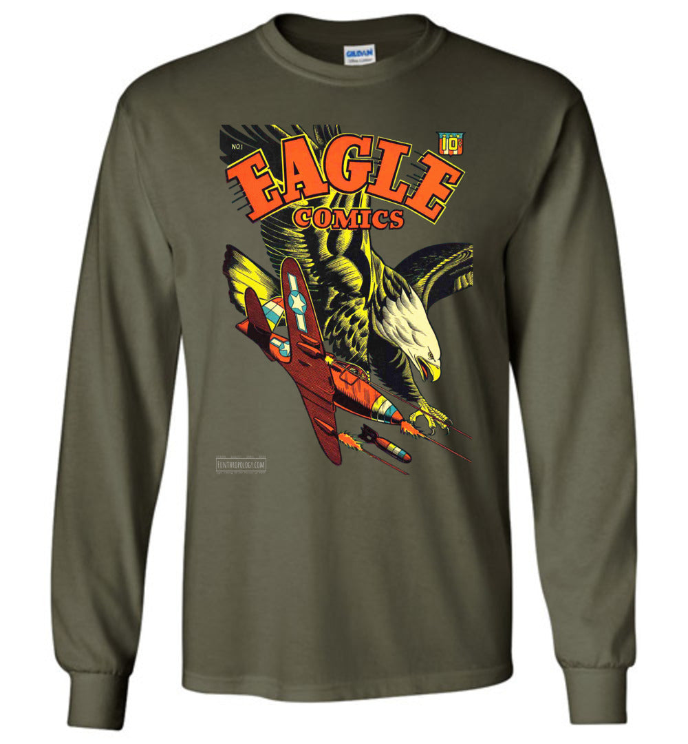 Eagle Comics No.1 Long Sleeve (Unisex, Dark Colors)