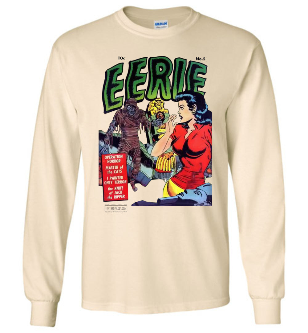 Eerie Comics No.5 Long Sleeve (Unisex, Light Colors)