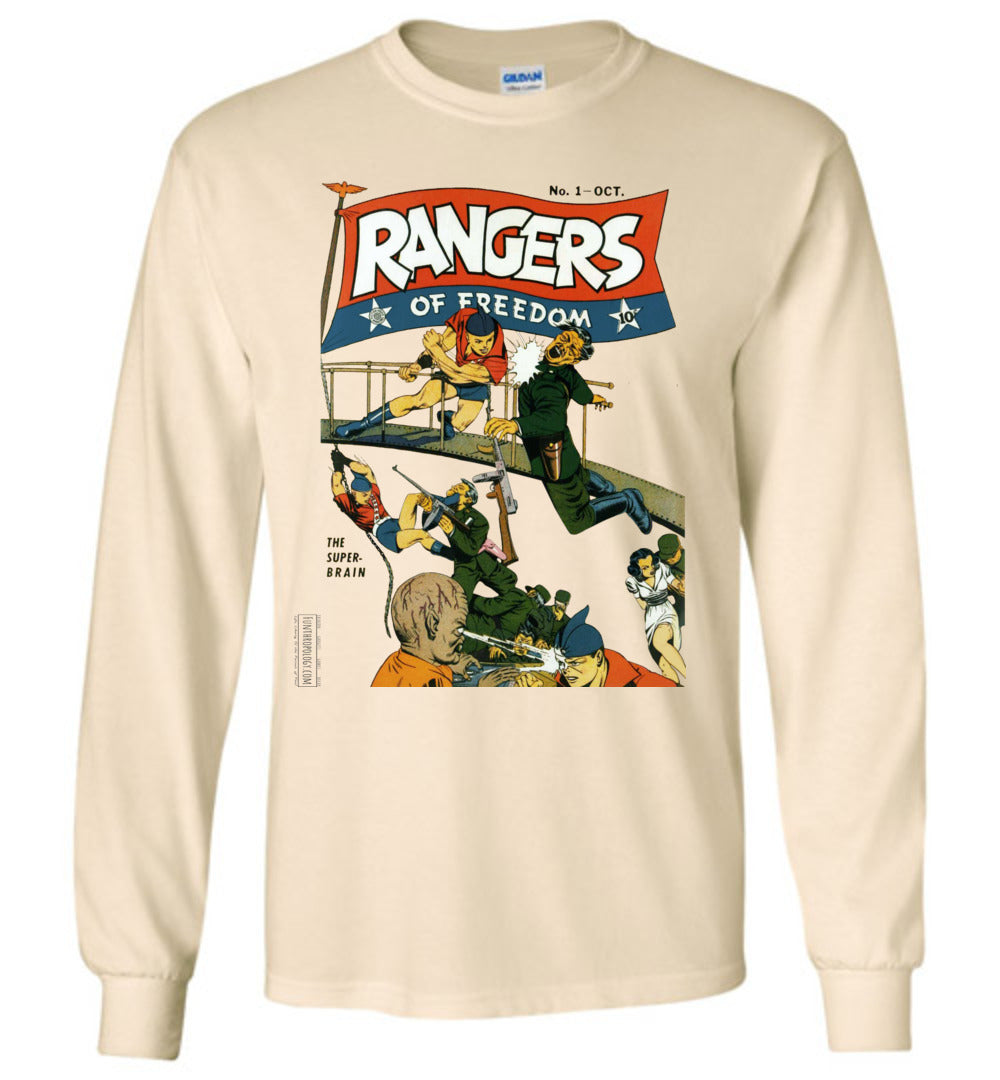 Rangers Comics No.1 Long Sleeve (Unisex, Light Colors)