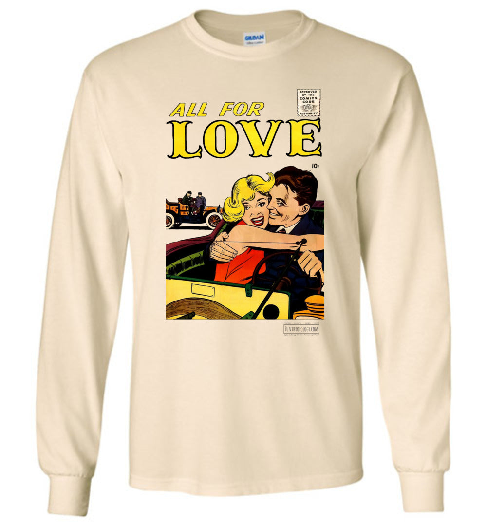 All For Love No.3.4 Long Sleeve (Unisex, Light Colors)