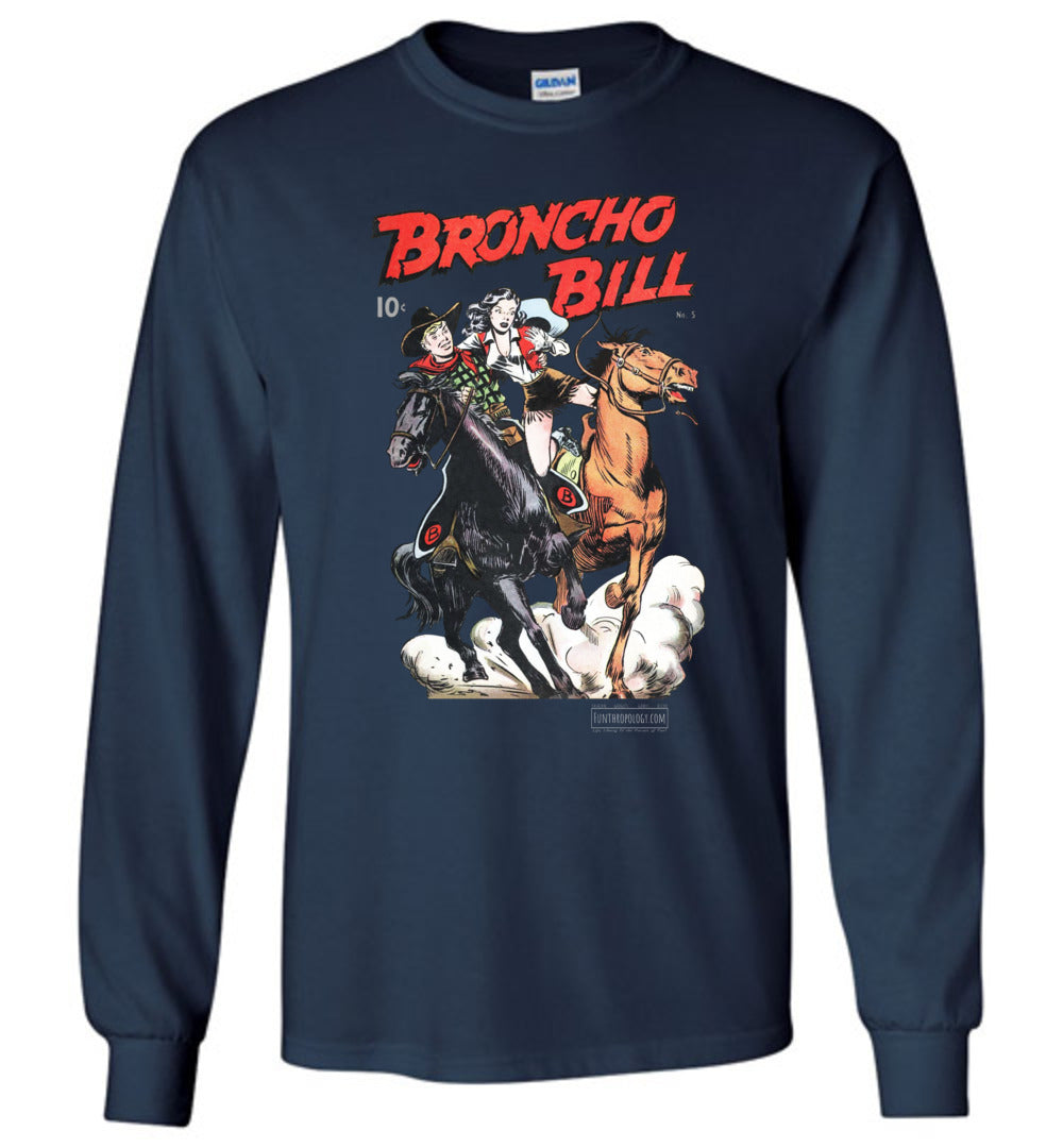 Broncho Bill No.5 Long Sleeve (Unisex, Dark Colors)