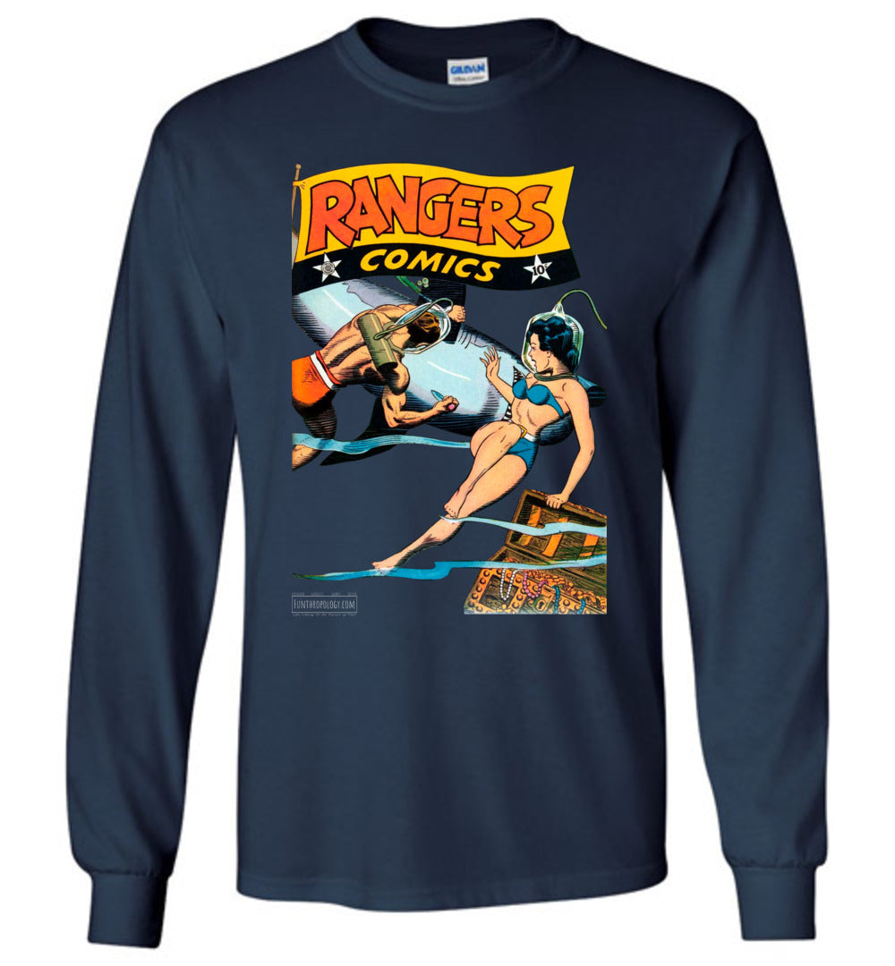 Rangers Comics No.33 Long Sleeve (Unisex, Dark Colors)