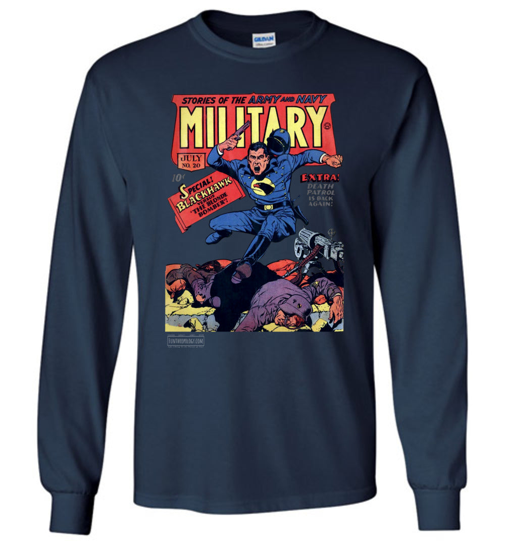 Military Comics No.20 Long Sleeve (Youth, Dark Colors)