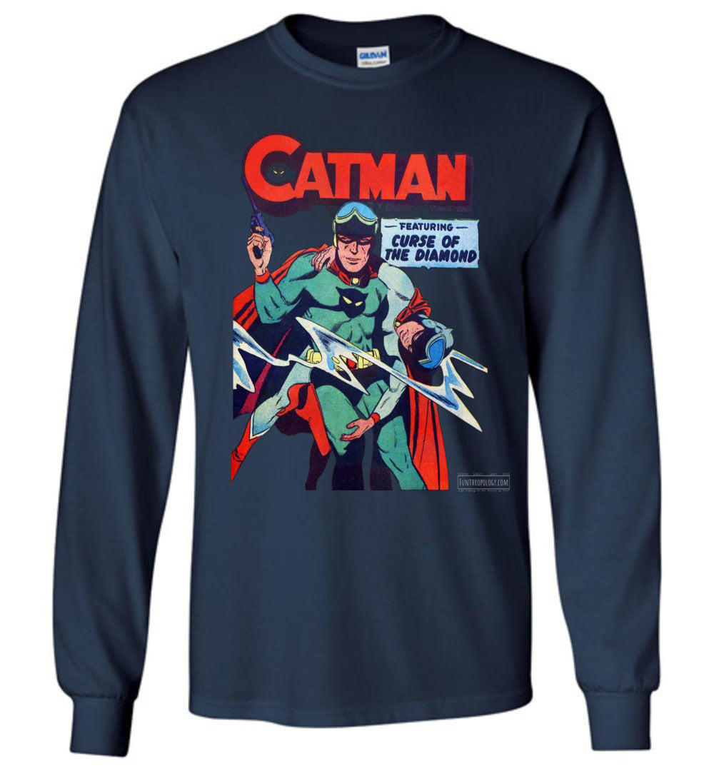 Catman No.16 Long Sleeve (Youth, Dark Colors)