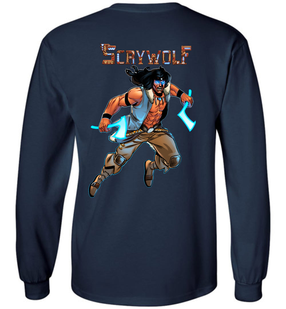 Capes & Chaos Scrywolf Long Sleeve (Youth)
