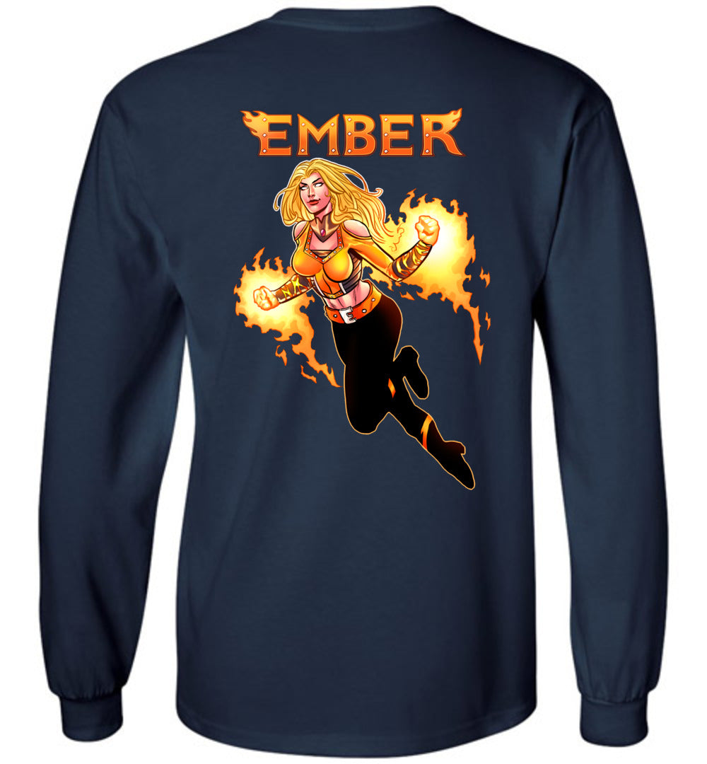 Capes & Chaos Ember Long Sleeve (Unisex)